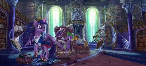 The Walls of Knowledge by Devinian