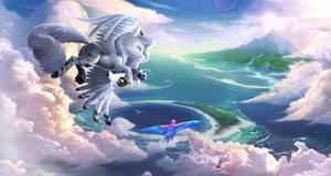 Commission: Befriending Clouds