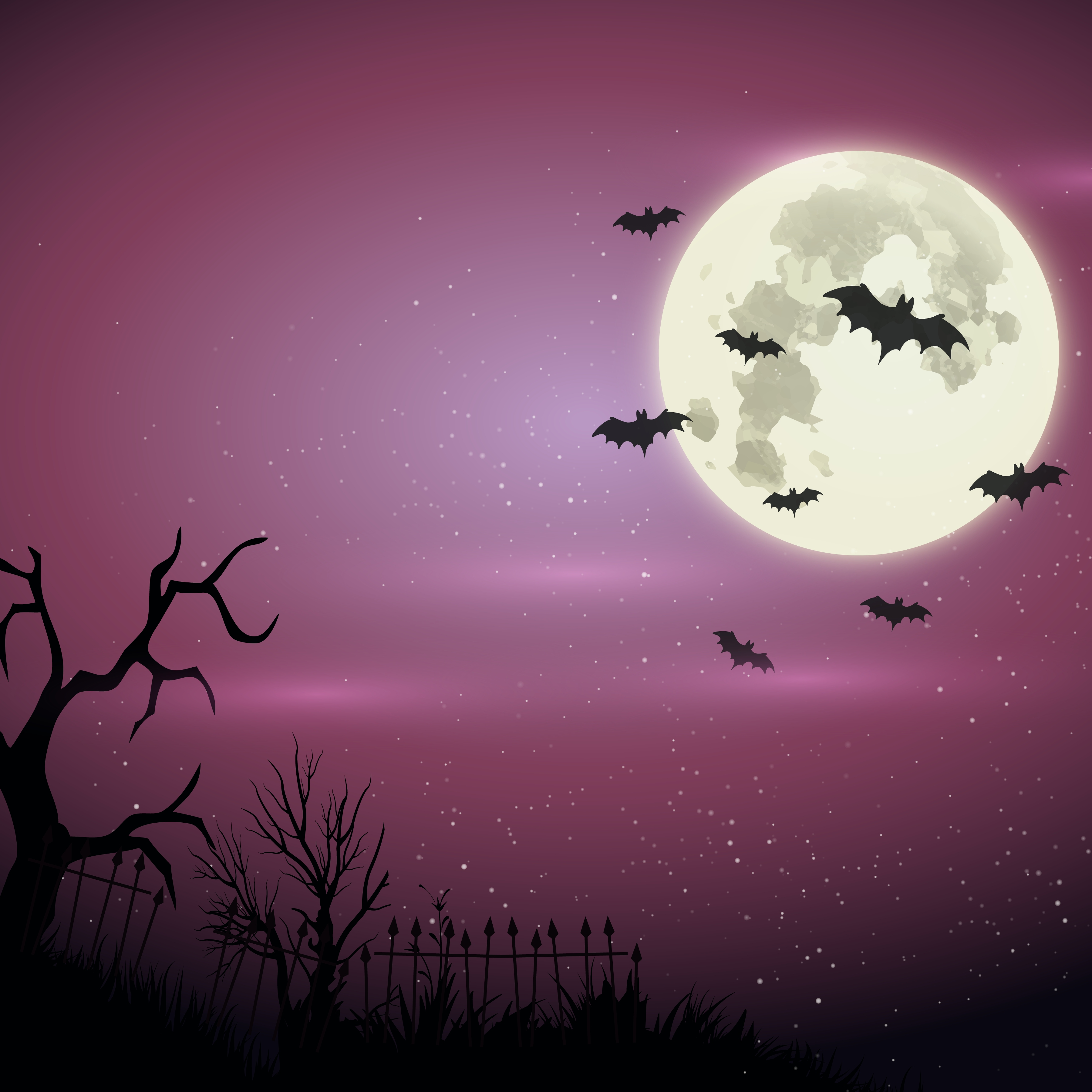 Free Halloween Dog Wallpaper