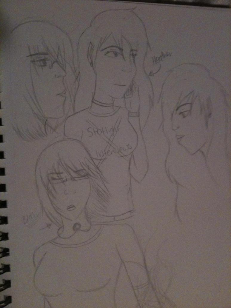 Cinereo magnus sketchs by kieskaxofxthexsand
