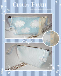 Cloudy Pouch by apple-garden
