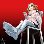 Feet Request: Haru Okumura by keyhei