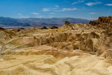 Death Valley - Zabriskie Point by Hermes-Honshappo