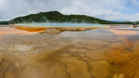 Yellowstone National Park - Grand Prismatic