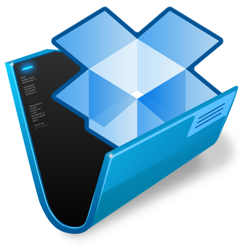 how to get folder size in dropbox