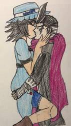 CoV: (Possible) reunion kiss