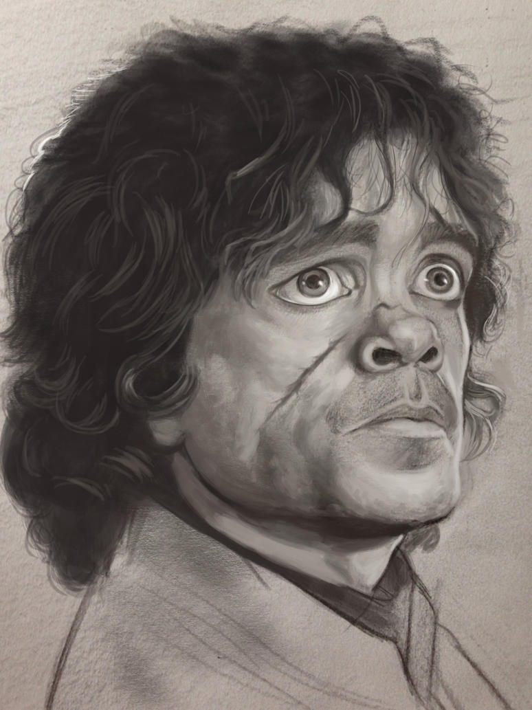 Tyrion Lannister by sykohyko