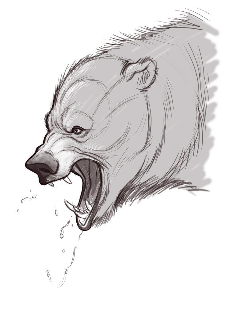 Bear by sykohyko