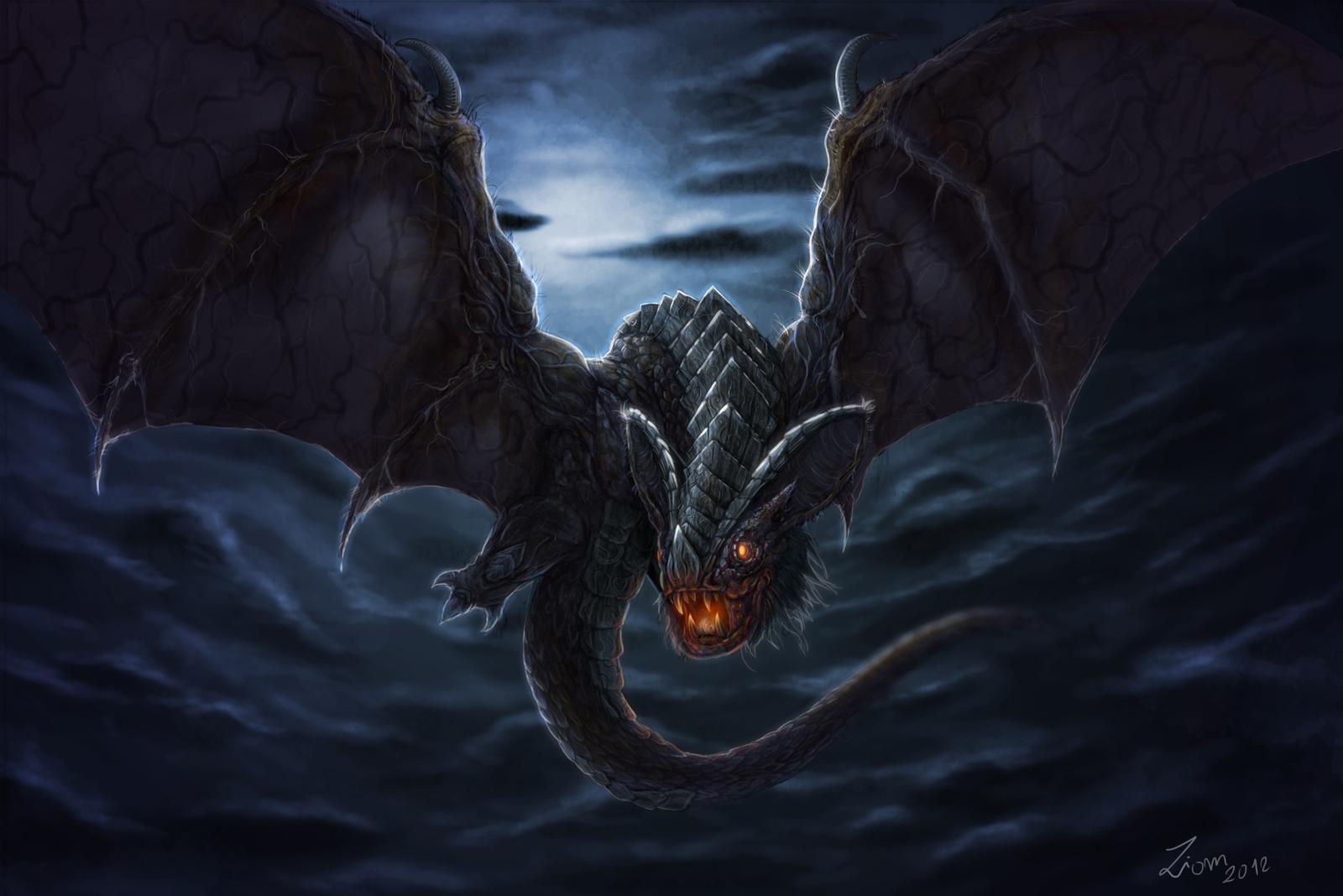 Dragonbat by Ziom05