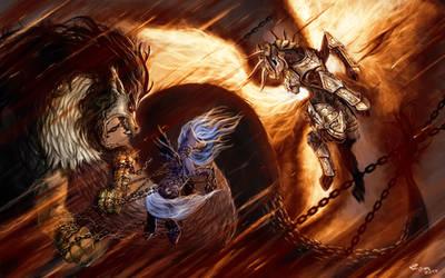 Discord versus Lightmare Sun by Ziom05
