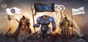 Blizzard Contest Art by Ziom05