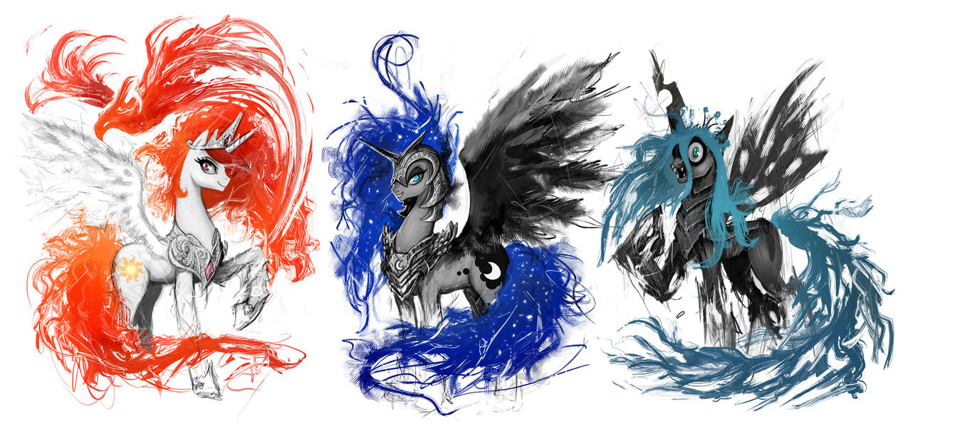 T Shirt Designs Of Powerful Ponies By Ziom05 ...