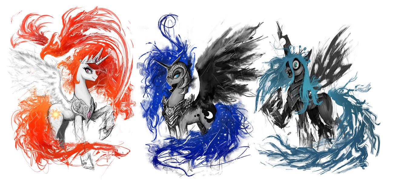 Design t shirt artwork - T Shirt Designs Of Powerful Ponies By Ziom05