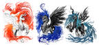 T-shirt designs of Powerful Ponies by Ziom05