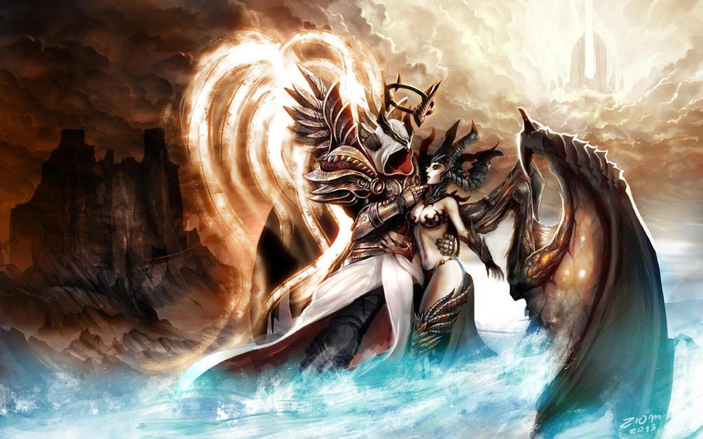 Diablo 3 Anniversary - Inarius and Lilith
