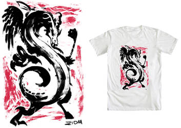Chinese Discord - Tee Design Project by Ziom05