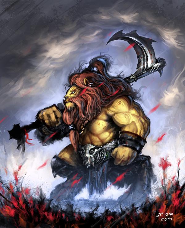 Dwarf Lion by Ziom05