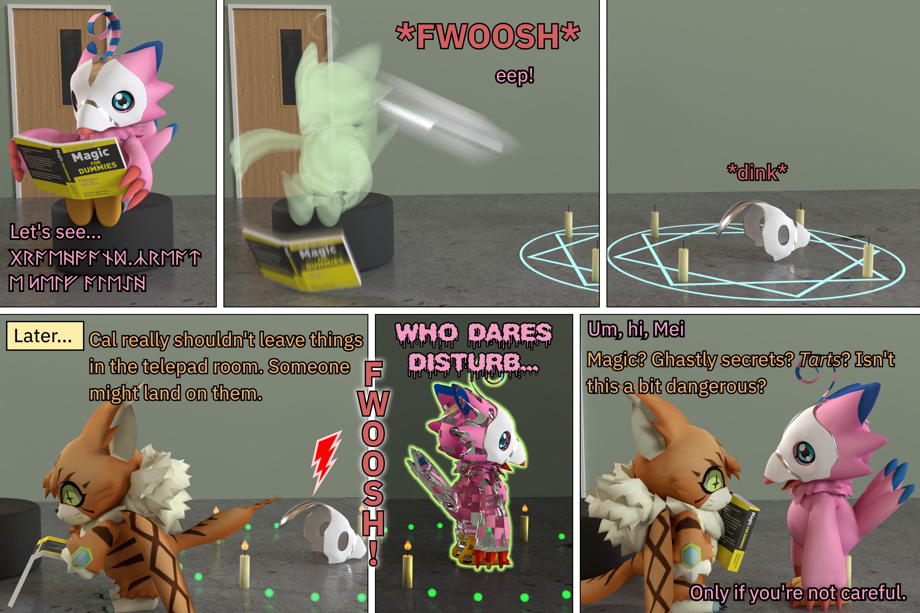 Calraith vs the Gravehound spell