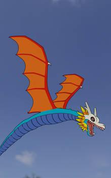 Airdramon in flight