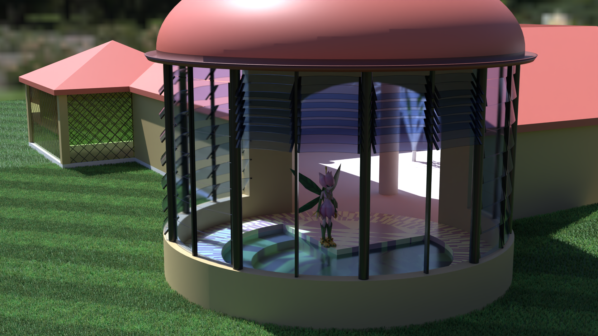 Some sort of pavilion