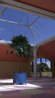 Some sort of pavilion (interior)