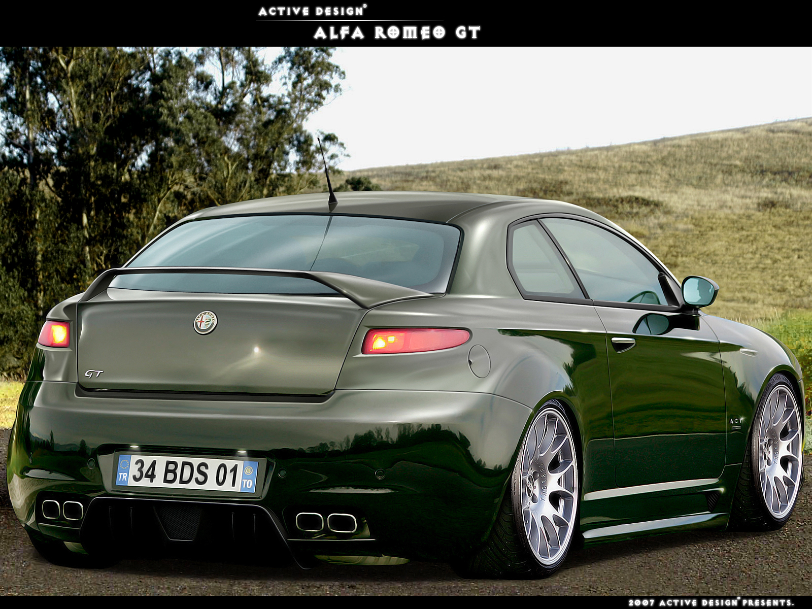 Alfa Romeo Gt By Active Design On Deviantart
