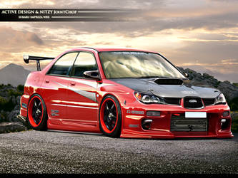 Subaru Impreza WRX by Active-Design