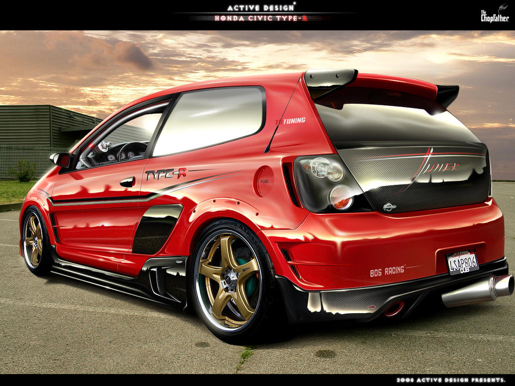 Honda Civic Type R By Active Design ...