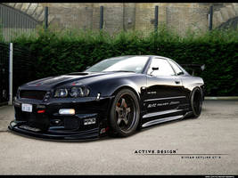 Nissan Skyline GT-R by Active-Design
