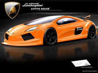 Lamborghini Concept by Active-Design