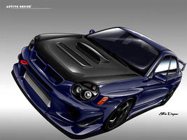 Subaru Impreza WRX STI by Active-Design