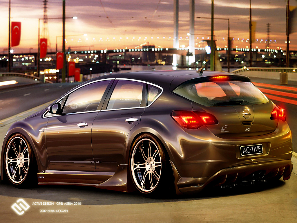 Opel Astra 2010 By Active Design On Deviantart