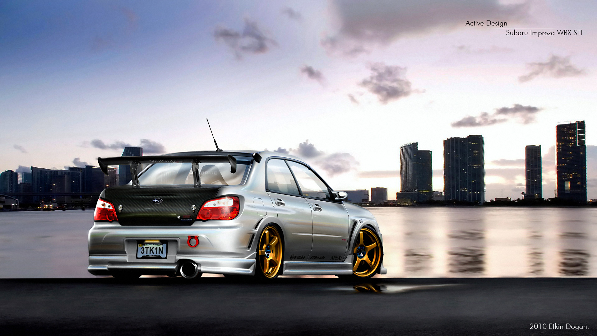 Subaru Impreza WRX STI 2 by Active-Design