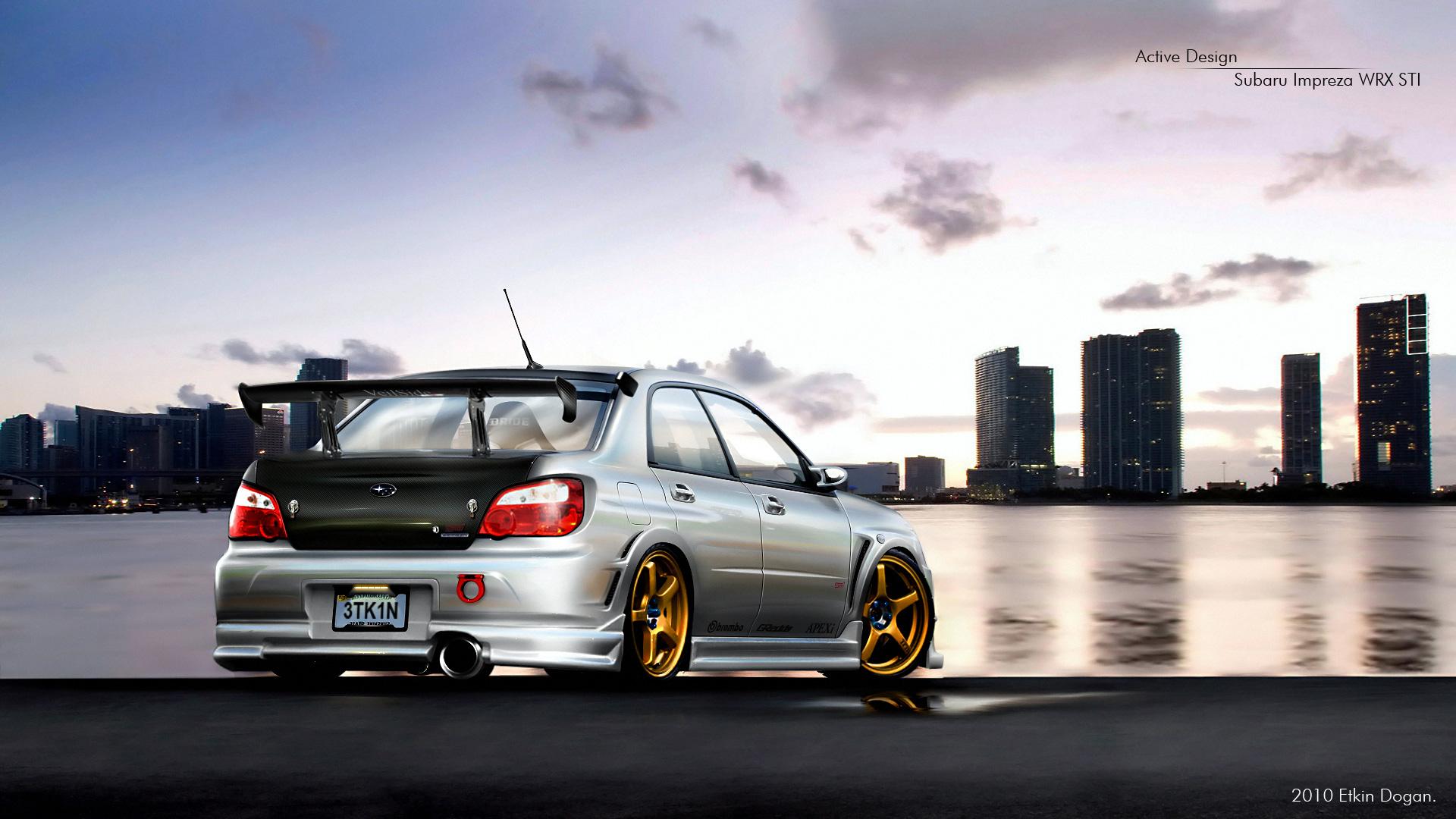 Subaru Impreza WRX STI 2 by Active-Design