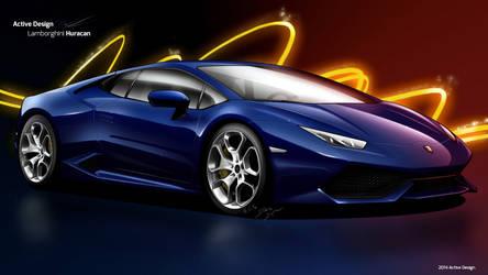 Lamborghini Huracan by Active-Design