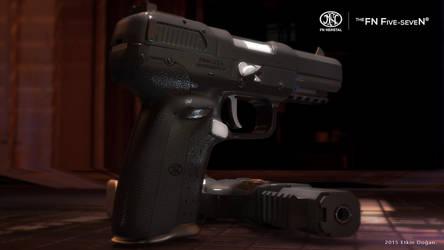 FN Herstal USA - FiveseveN Black by Active-Design