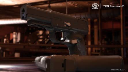 FN Herstal USA - FiveseveN Dark Matte Grey by Active-Design