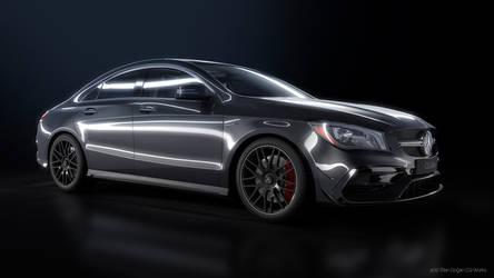 Mercedes Benz CLA45AMG - CGI by Active-Design