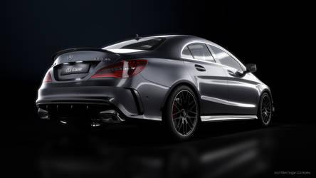 Mercedes Benz CLA45AMG - CGI #2 by Active-Design