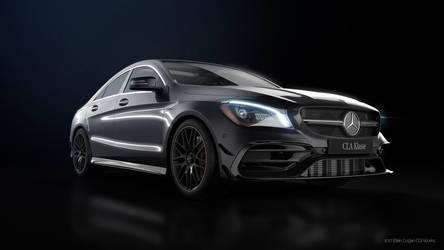 Mercedes Benz CLA45AMG - CGI #3 by Active-Design