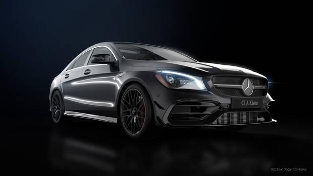 Mercedes Benz CLA45AMG - CGI #3
