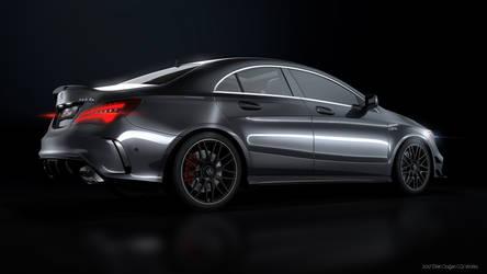 Mercedes Benz CLA45AMG - CGI #4 by Active-Design