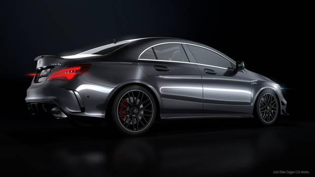 Mercedes Benz CLA45AMG - CGI #4