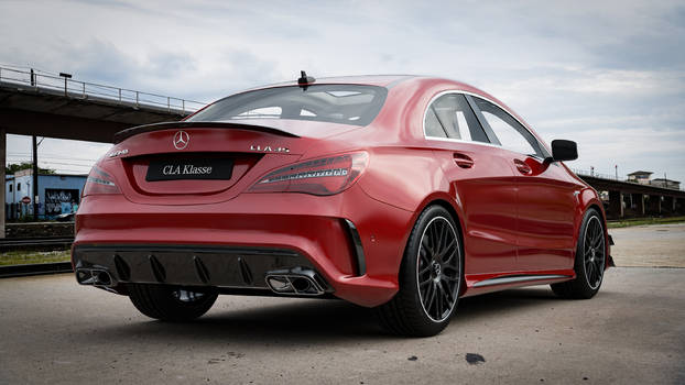 Mercedes Benz CLA45AMG - CGI #6