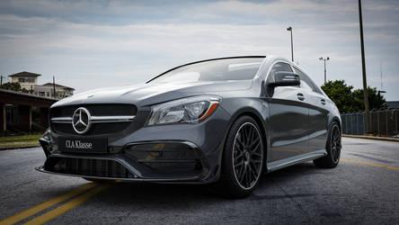 Mercedes Benz CLA45AMG - CGI #8 by Active-Design
