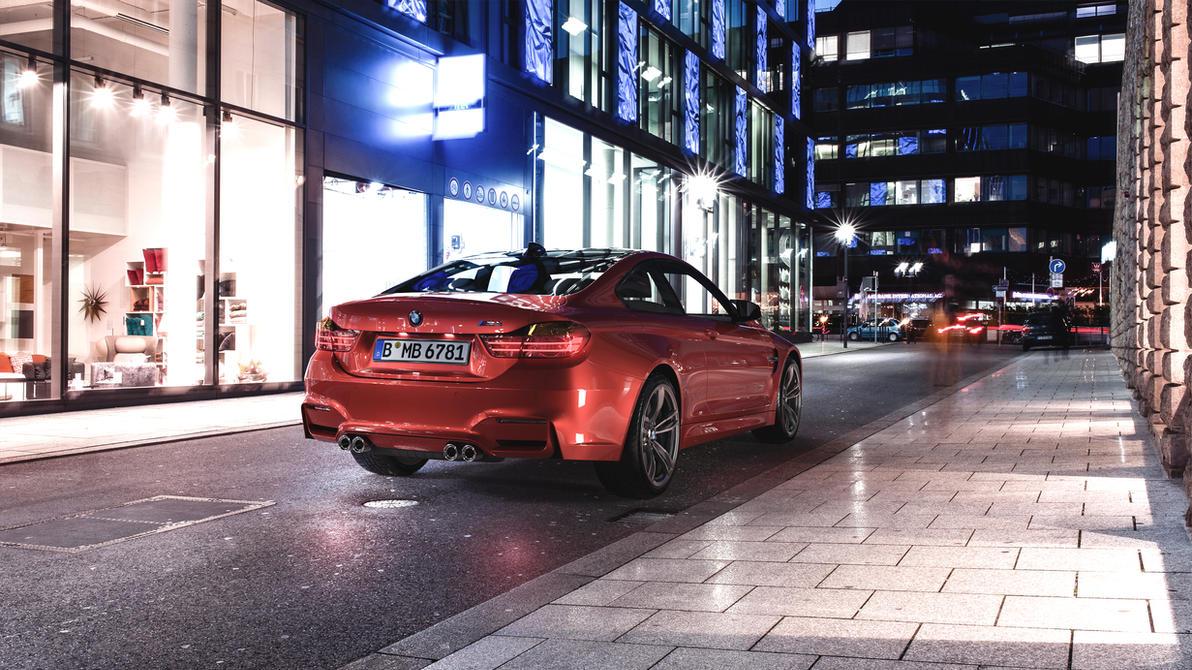 BMW F82 M4 - Sakhir Orange - CGI by Active-Design