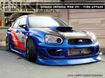 Subaru Impreza STI Time Attack