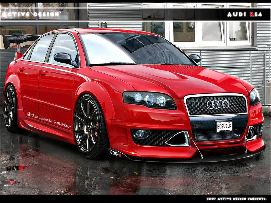 Audi RS4 by Active-Design on DeviantArt