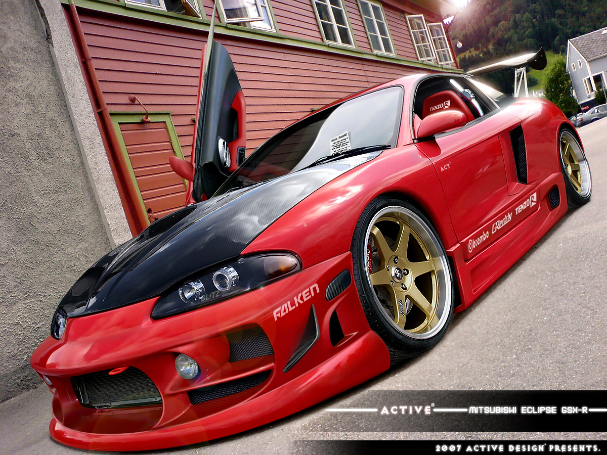 Mitsubishi Eclipse Gsx By Active Design on Mitsubishi Eclipse Gsx Body Kit