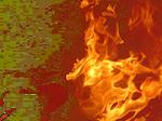 Fire render